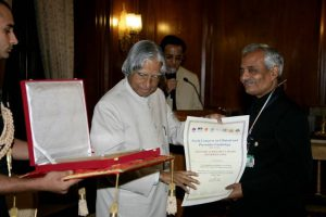 Lifetime Achievement Award received from Dr A. P. J. Abdul Kalam, President of India, in the field of Clinical and Preventive Cardiology in the World (2006 and 2007)